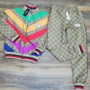 Gucci Women 80's Design NWT Tracksuit